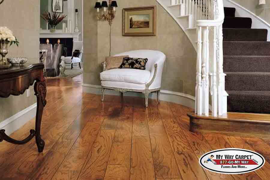 Bruce Hardwood Flooring | Birch - Summer Mist - Bruce My Way Carpet Floors And More