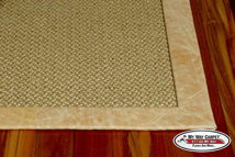 Sisal Tape This Binding Option Creates A Distinctive Wide Edge Around The Perimeter Of Your Carpet
