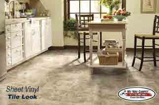 Ordinaire Kitchen U0026 Bathroom Vinyl Flooring Options | My Way Carpet Floors And More